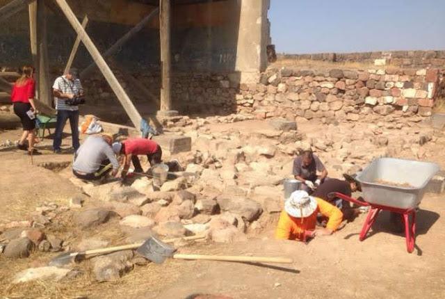 Encuentran otro templo en la Fortaleza de Erebuni
