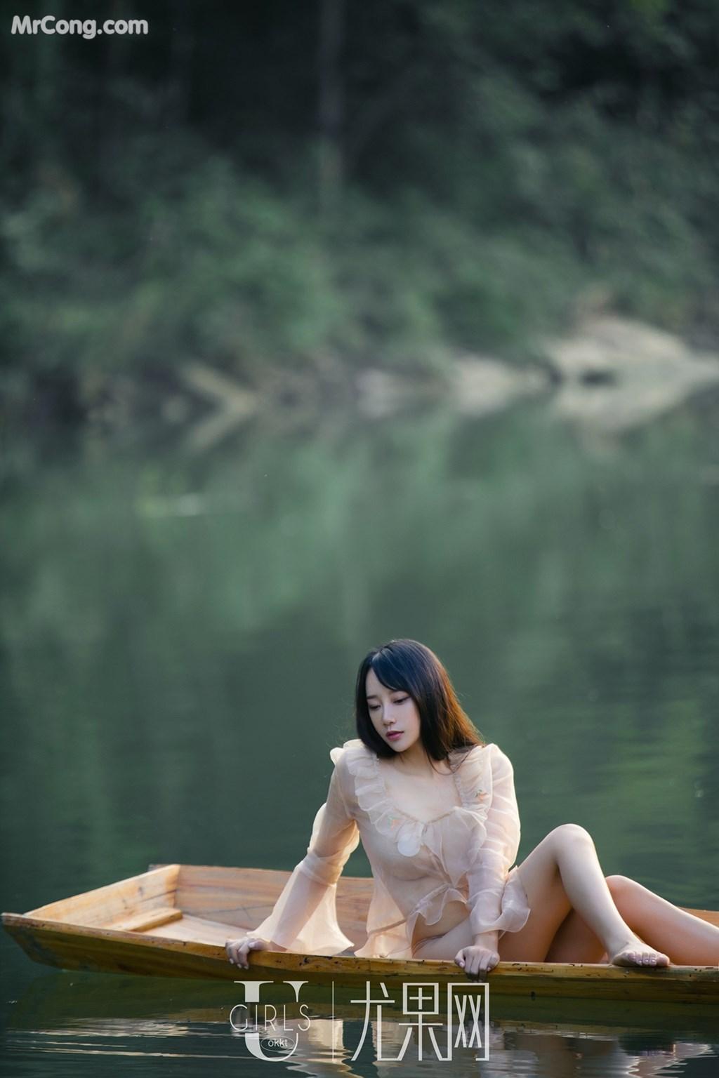 Image UGIRLS-U318-He-Jia-Ying-MrCong.com-055 in post UGIRLS U318: Người mẫu He Jia Ying (何嘉颖) (66 ảnh)