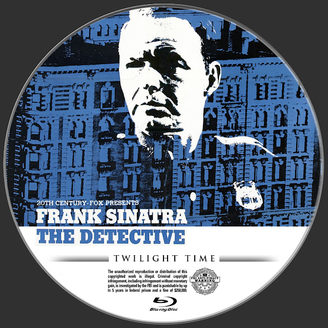 The Detective (1968) Bluray Label