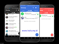 WhatsApp MOD Blue, Red,  Black Edition Versi Terbaru