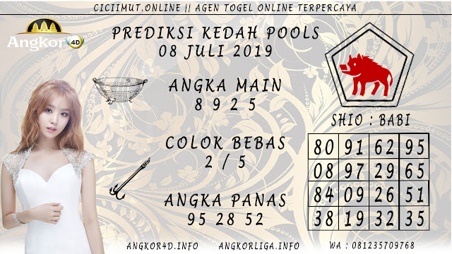 PREDIKSI KEDAH POOLS 08 JULI 2019