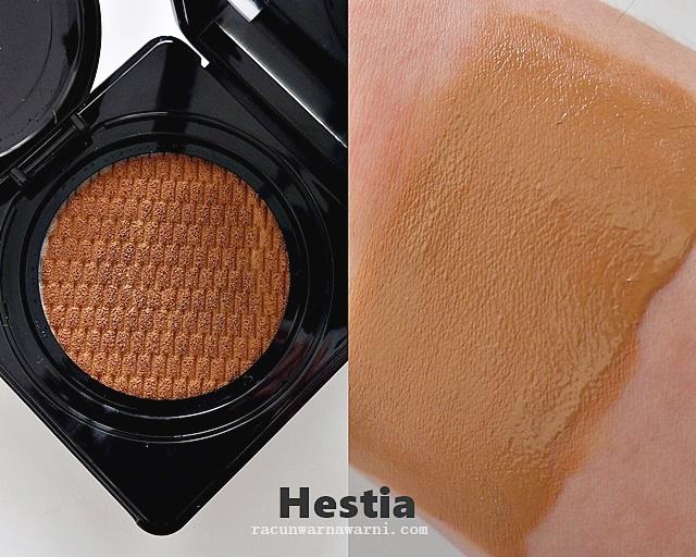 Loooke BB Cushion Swatch Hestia Honey Bronze
