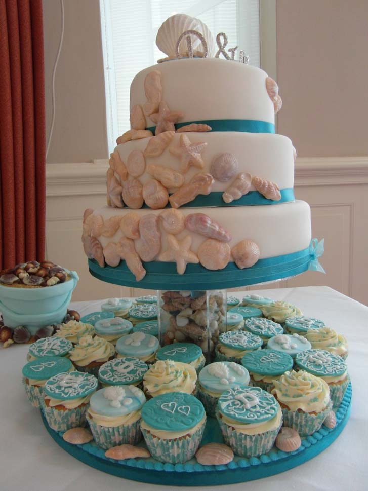 Beach Themed Wedding Cakes Cake Magazine