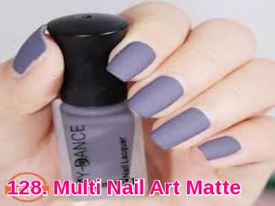 Multi Nail Art Matte