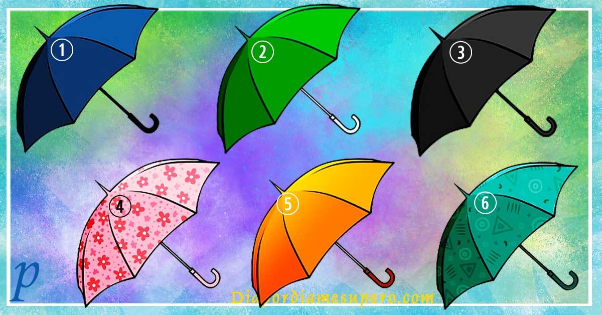 Test: Elige un paraguas y descubre algo interesante sobre ti