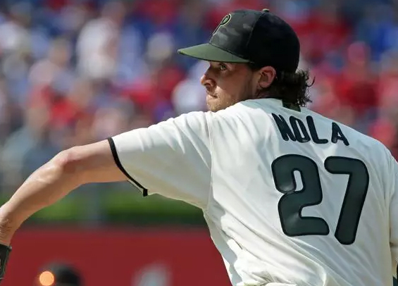 Aaron Nola looks great for Phillies vs. Marlins