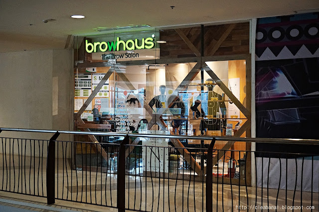 Browhaus Davao [ My 1st Browhaus Experience]