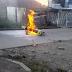 Judicializan a mujer por haber participado  en la quema  de motocicleta de la policia en popayan