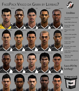 FacePack Vasco da Gama Pes 2013