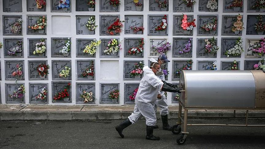 4 días seguidos con más de 400 muertes por Covid. Colombia