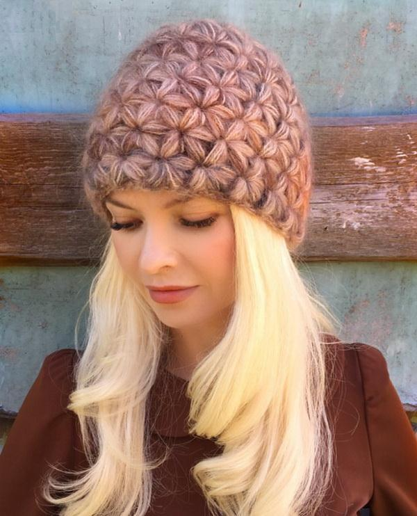 Winter Crochet Hat By Jasmine Stitch