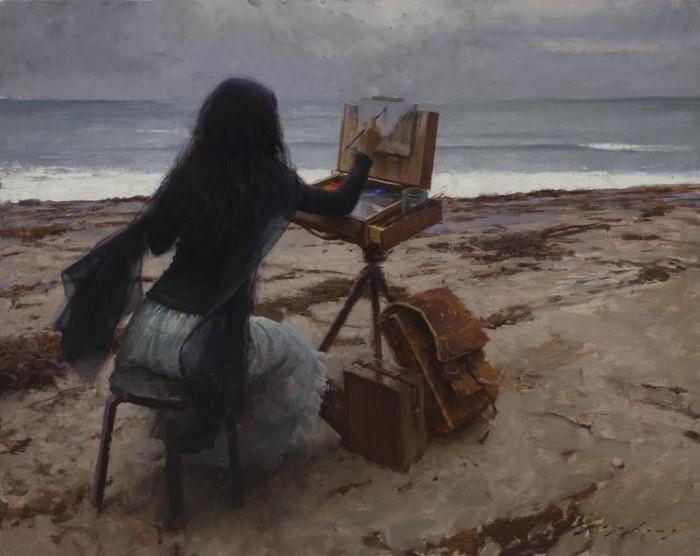 Современные американские художники. Jeremy Lipking 13