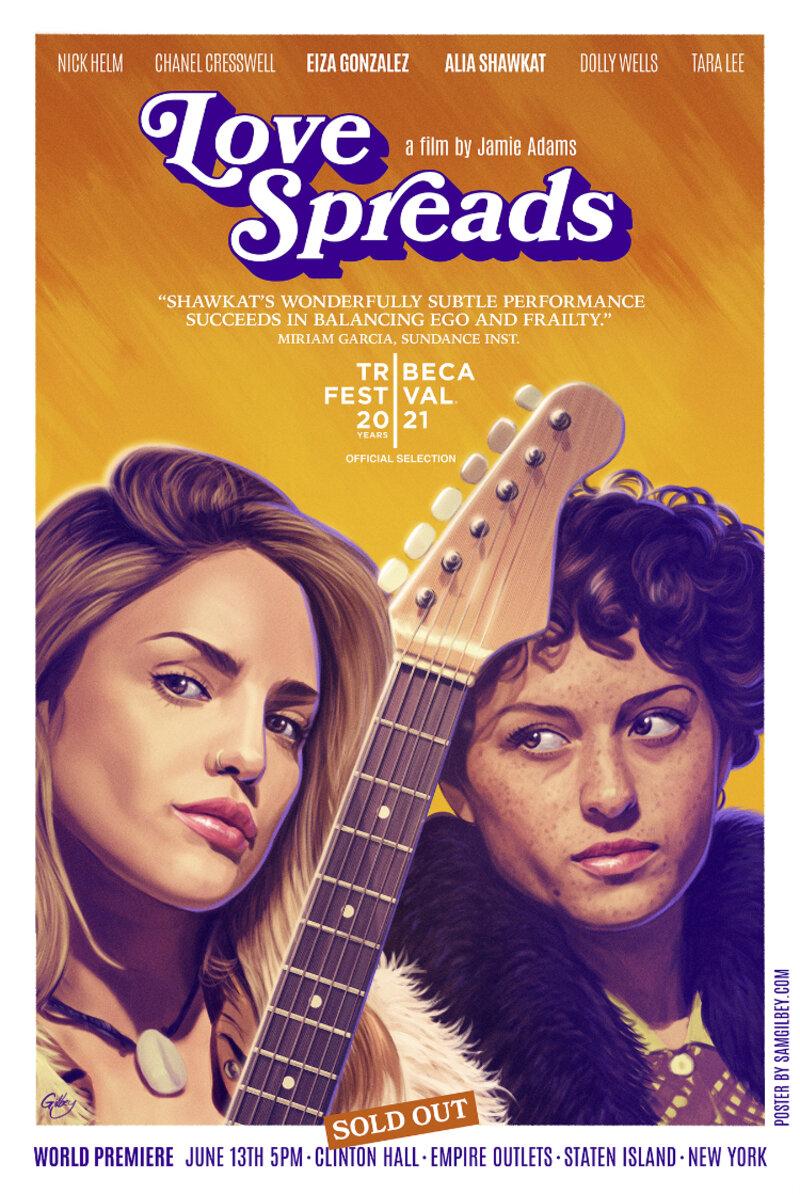 love spreads tribeca poster
