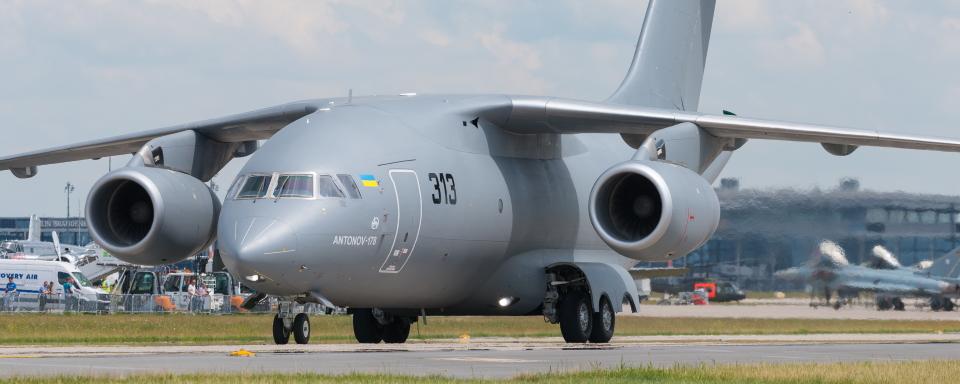 Системи завантаження і повітряного десантування вантажів для Aн-178 Збройних Сил України розробляють у США