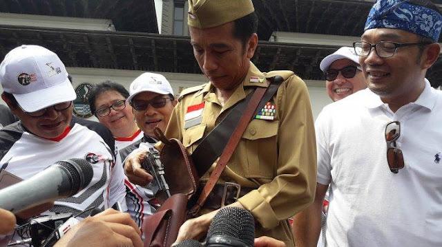 Ma'ruf Amin Bilang Jokowi Tak Pernah Pencitraan