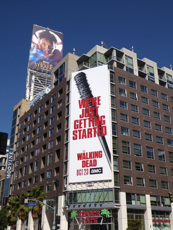 Walking Dead season 7 Lucille billboard