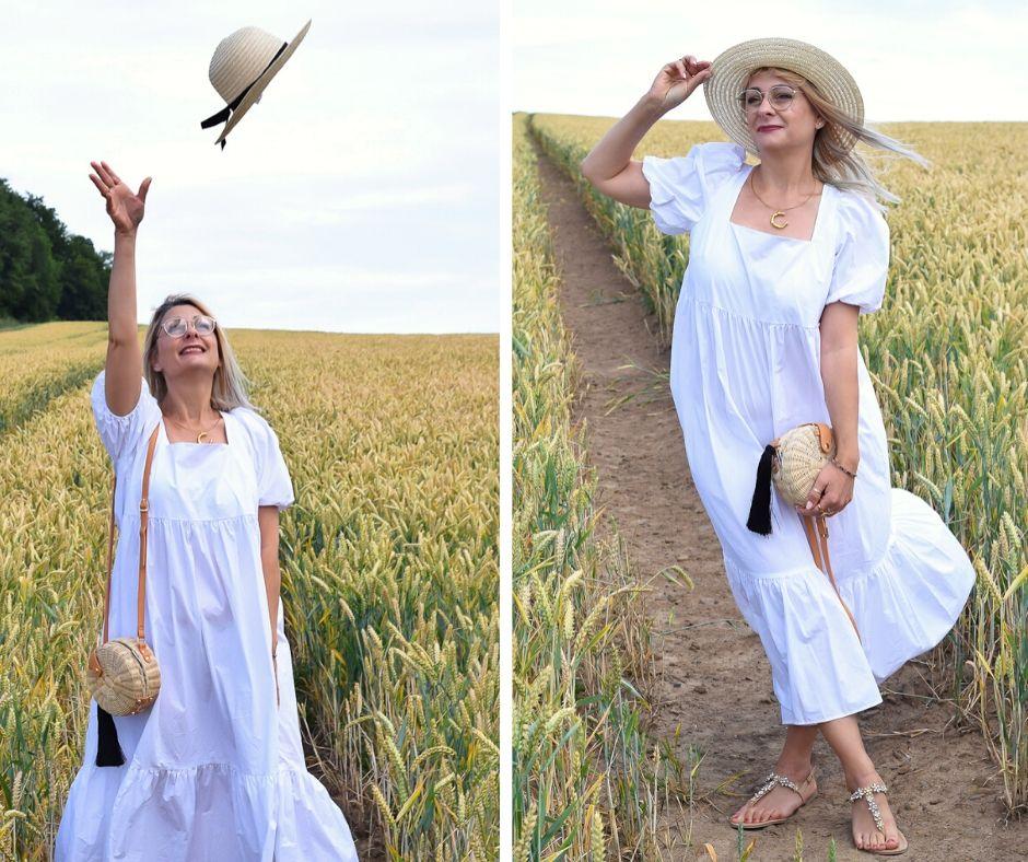 Sommerkleid-Baumwolle-weiß-Look