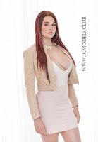Skyla Novea white bikini naked striptease picture gallery