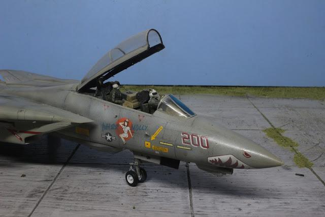 "F-14A Tomcat VF111 ""Sundowners""'Hasegawa au 1/48."