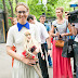Ksenia Sobchak arranged auction in aid of children