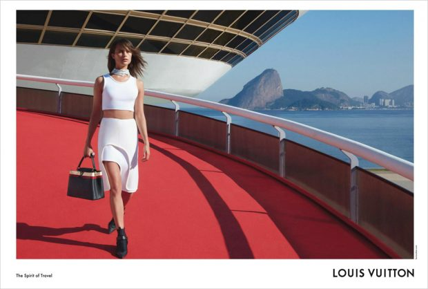 Alicia Vikander Stars in Louis Vuitton Cruise 2017 Campaign