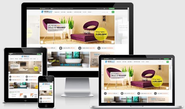 Megashop - Blogspot bán hàng nội thất