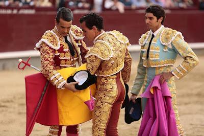 Alternativa GaldOs matador peruano madrid manzanares cayetano
