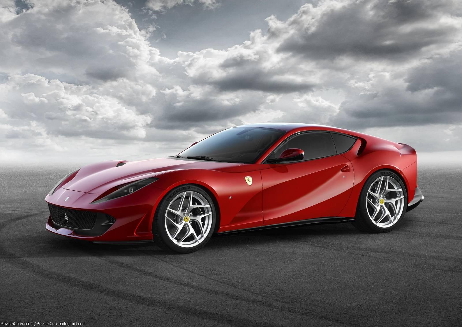 Fondo de Ferrari Rojo Impresionante en Fondos y Pantallas
