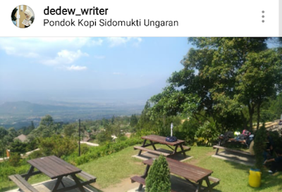 Nongkrong Asyik di Pondok Kopi Umbul Sidomukti, Kabupaten Semarang