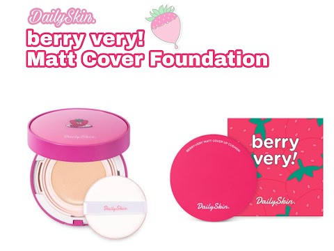 Review Daily Skin Berry Very Matt Cover Foundation - 23 Berry Natural