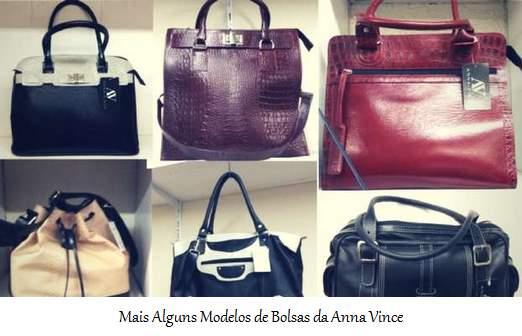Mais Alguns Modelos de Bolsas da Anna Vince