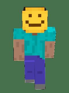 Steve Smile Minecraft Skin