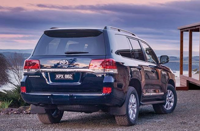 2018 Toyota Landcruiser 200 Series Spec