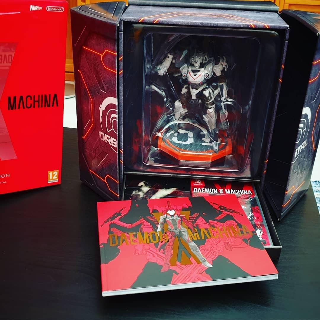 Daemon x machina recensione nintendo switch Orbital Limited Edition