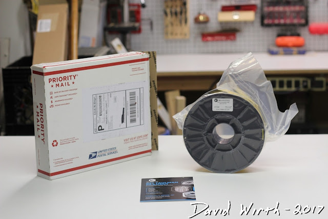 how filament is shipped for 3d printer