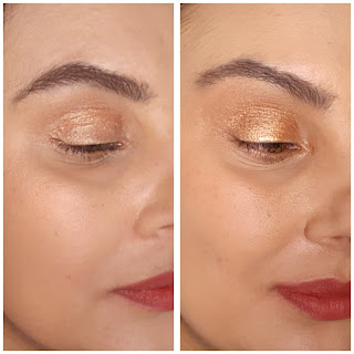 resenha Iluminador para corpo e rosto Glow Up Color Trend Avon  Cor Dourado Tropical dicas da tia efeitos