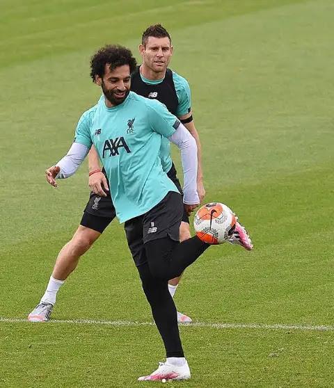 محمد صلاح لاعب ليفربول