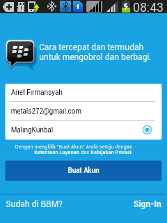 aplikasi bbm