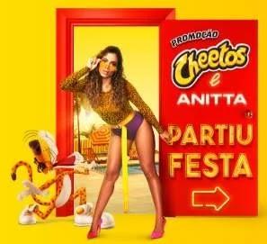 Cadastrar Promoção Festa Casa Anitta e Cheetos - Óculos e Celulares Cheetos