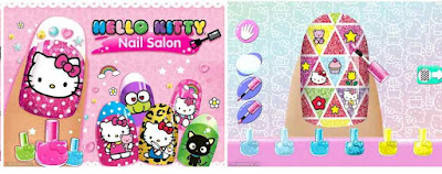 Game Salon Kuku Hello Kitty