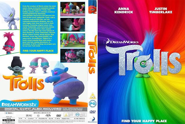 Capa DVD Trolls