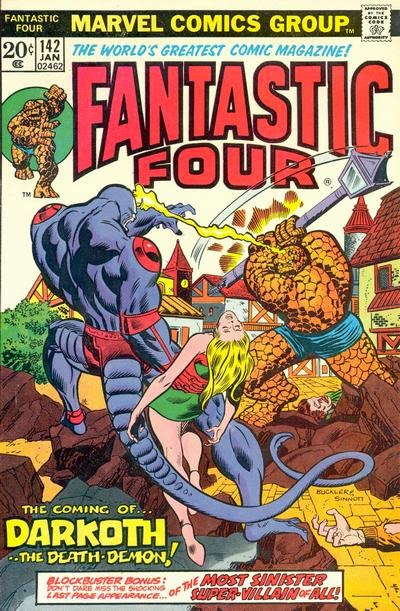 Fantastic Four #142, Darkoth the death demon