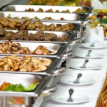 Wedding Reception Food Buffet