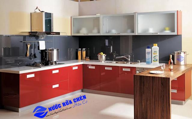 Tủ bếp chữ L – giải pháp tối ưu cho gian bếp trong mọi căn hộ
