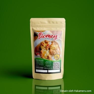 Desain Stiker Kemasan Siomay, Pempek, Dan Batagor KIM foods