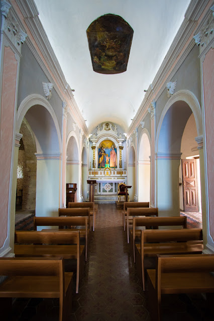 Santuario di Santa Maria dell'isola di Tropea-Interno