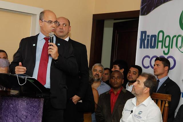 Wilson Witzel participa da abertura da safra de cana-de-açúcar em Campos