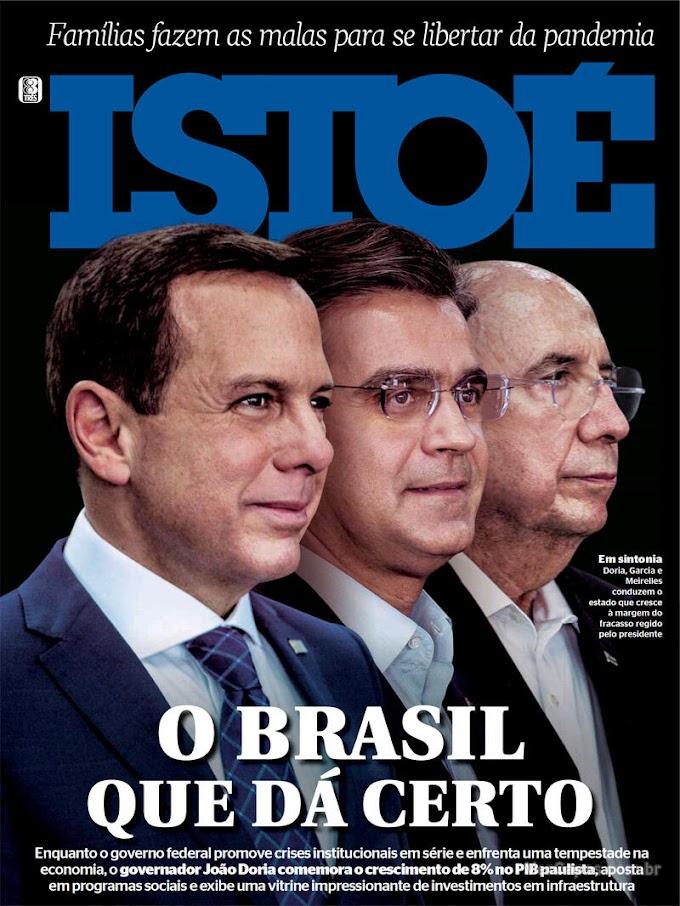 REVISTAS SEMANAIS- Confira destaques de capa das revistas que estão chegando às bancas e residências dos assinantes neste final de semana. Sábado, 04/09/2021