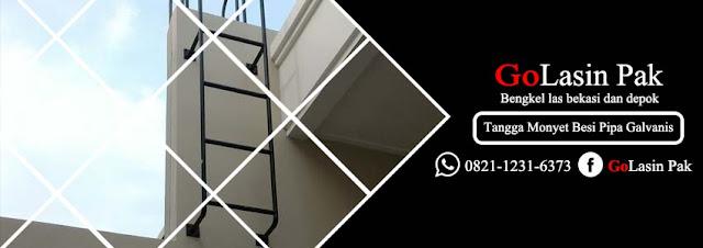 harga tangga monyet besi pipa galvanis