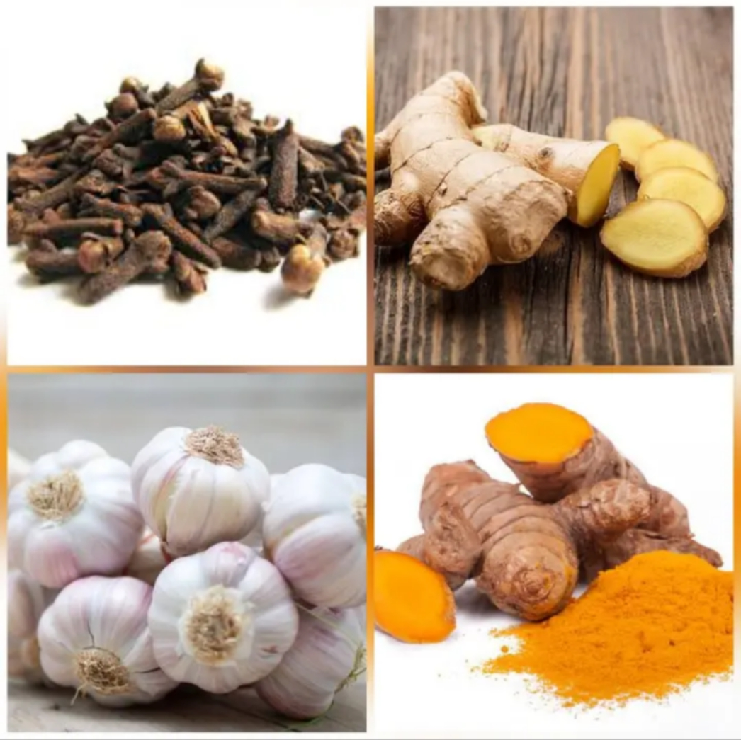 Grind Garlic, Tumeric and Ginger All Together To Treat These Health Problems